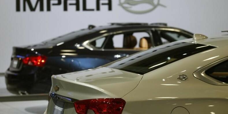 GM rappelle des véhicules pour un problème de frein à main