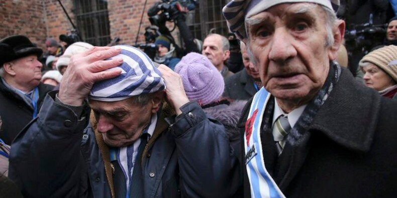 Trois cents survivants à Auschwitz, 70 ans après