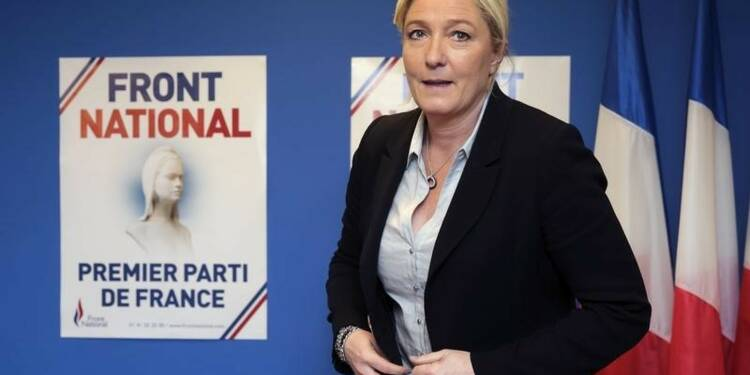 Marine Le Pen arriverait en tête au premier tour en 2017