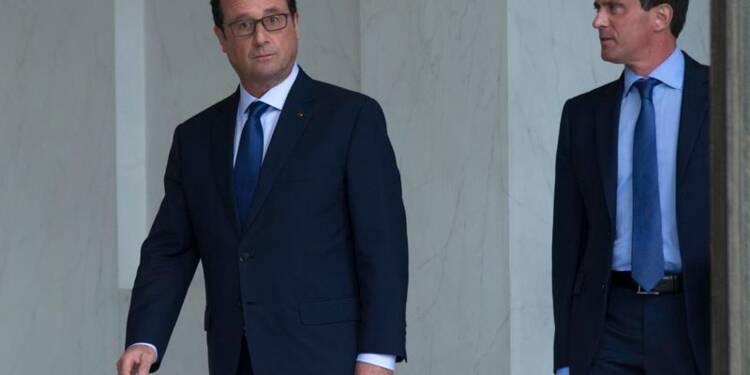 Les Français doutent qu'Hollande et Valls relanceront l'économie