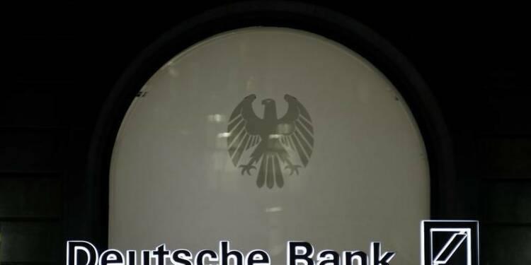 Deutsche Bank paierait un milliard d'euros dans le dossier Libor
