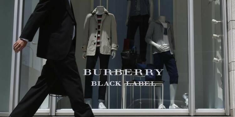 Hausse de 6% du bénéfice semestriel de Burberry