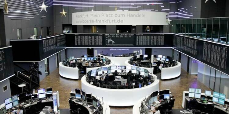 Les Bourses européennes en hausse après le PIB américain
