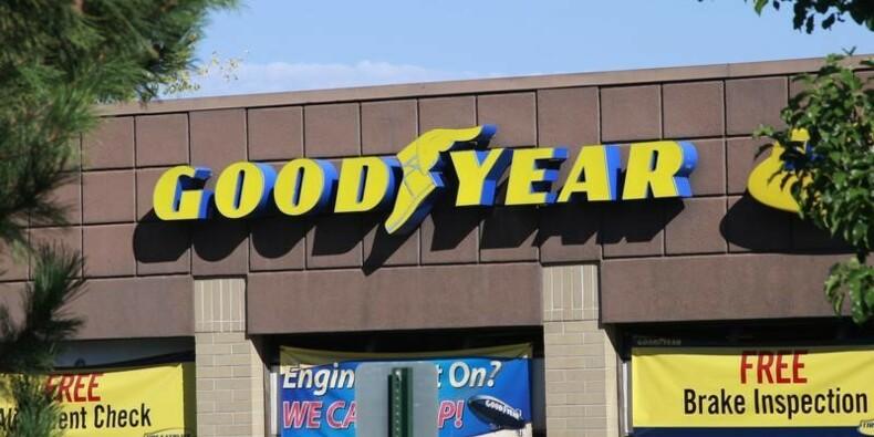 Goodyear avantagé par la baisse du coût des matières premières