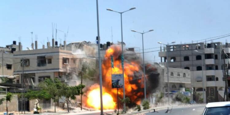 Les combats continuent à Gaza, l'Egypte appelle à la trêve