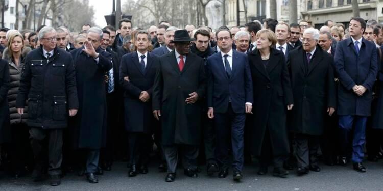 Le monde entier réuni à Paris pour les victimes des djihadistes