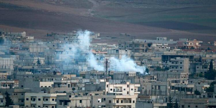 Incertitude sur le renfort venu de Syrie aux Kurdes de Kobani