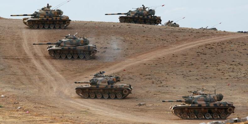 La Turquie pourra agir contre l'EI, qui avance vers sa frontière