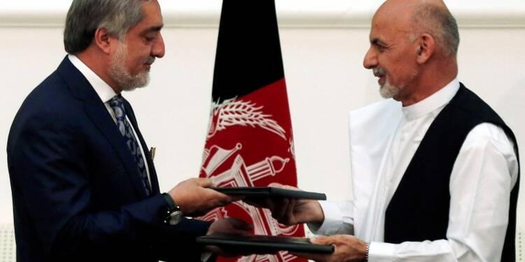 Ghani proclamé président afghan, accord de partage du pouvoir
