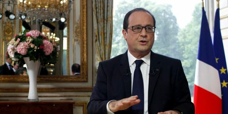 """Hollande promet de réformer """"jusqu'à la dernière minute"""""""