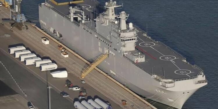 Moscou laisse deux semaines à Paris pour livrer le Mistral