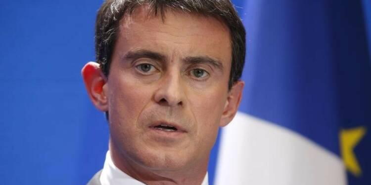 """Valls évoque un """"apartheid territorial, social, ethnique"""""""