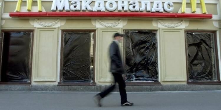 Fermeture d'un cinquième restaurant McDonald's en Russie