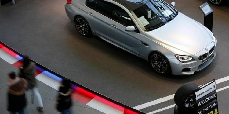 BMW pourrait perdre sa place de numéro un du haut de gamme