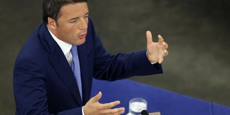 Matteo Renzi présente son budget, Bruxelles en embuscade