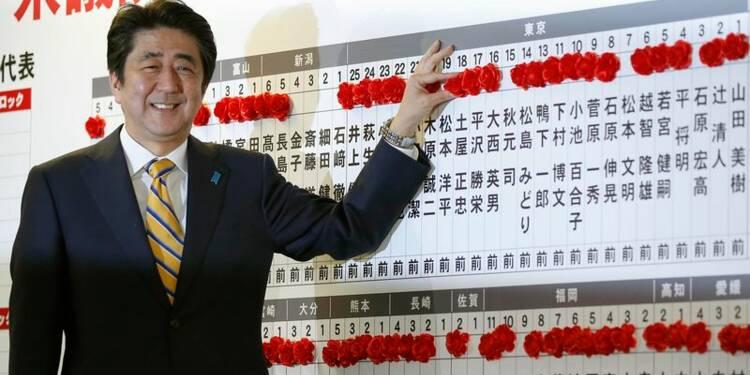 Large victoire électorale de la coalition sortante au Japon