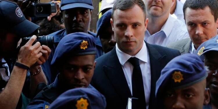 Oscar Pistorius arrive au tribunal pour connaître sa sentence