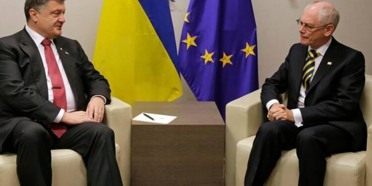 Petro Porochenko attend une riposte appropriée de l'UE à la Russie