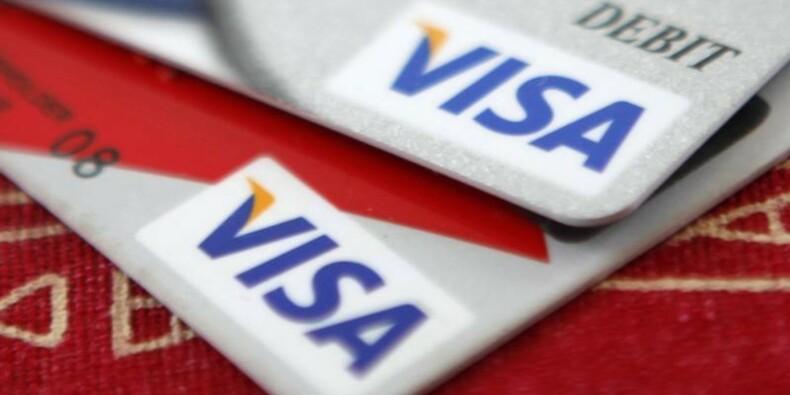 La consommation aux Etats-Unis porte le 1er trimestre de Visa