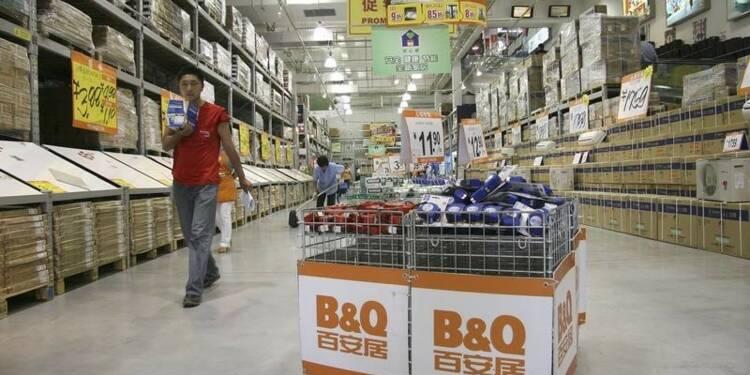 Kingfisher vend 70% de B&Q China pour 179 millions d'euros