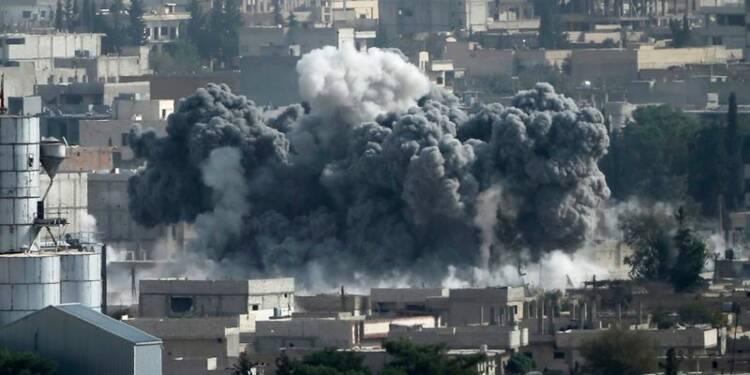 Attentat au camion piégé à Kobani, poursuite des combats