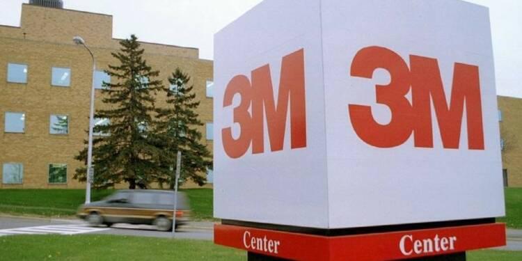3M affiche un bénéfice net en hausse de 6% au 2e trimestre