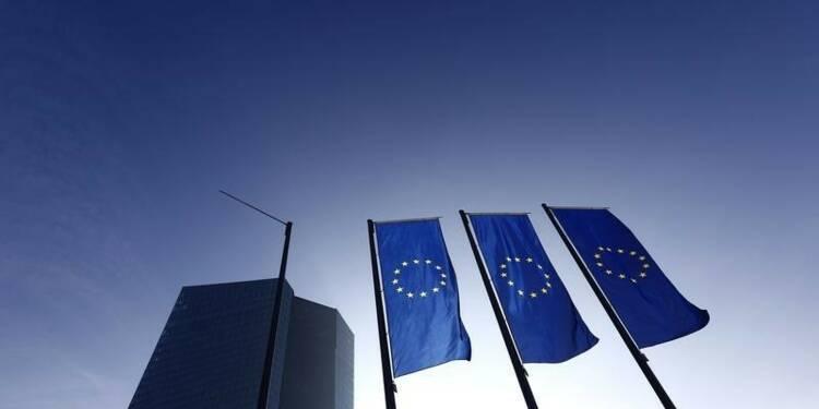 La BCE, plus optimiste, avant de lancer ses achats de dette