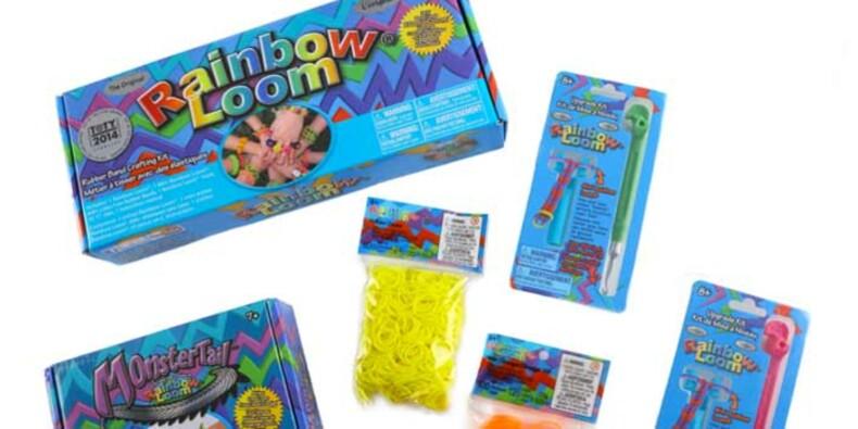 Qui se cache derrière l'incroyable succès des bracelets « Rainbow Loom » ?
