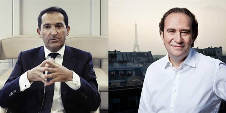 Entre Patrick Drahi et Xavier Niel, les deux milliardaires des télécoms, ça va mal finir