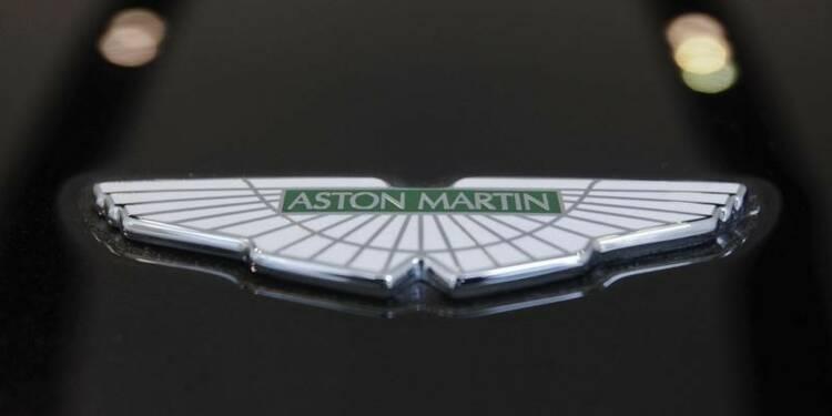 Aston Martin compterait lever des fonds pour élargir sa gamme