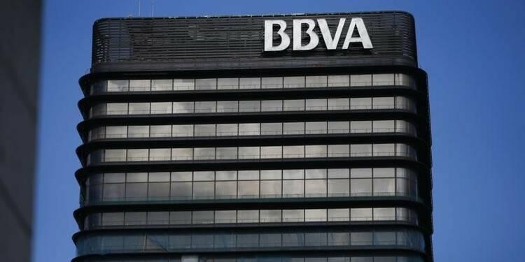 Le produit net bancaire de BBVA a reculé moins qu'attendu