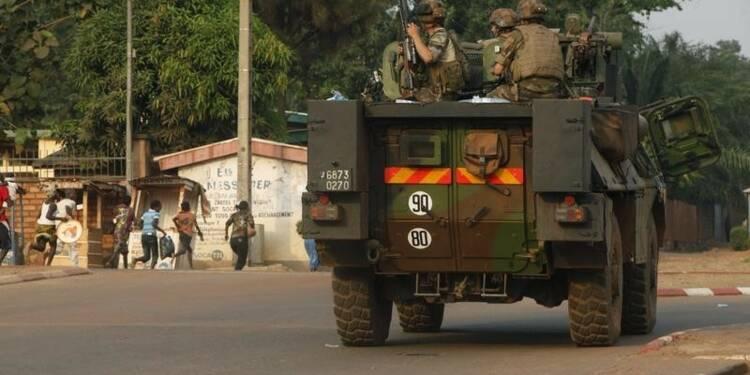 La force française Sangaris prise à partie en Centrafrique