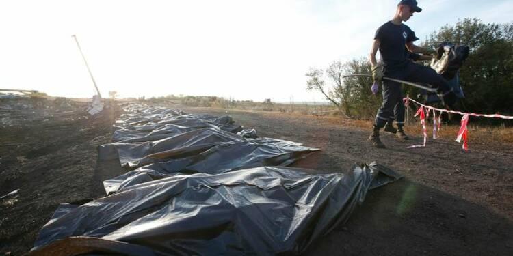 251 corps du vol MH17 auraient été retrouvés en Ukraine