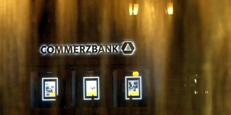 Commerzbank double son bénéfice net au 2e trimestre