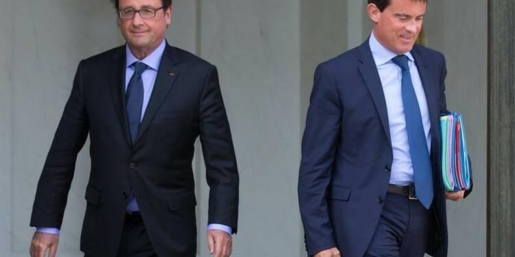 François Hollande à 20%, Manuel Valls à 35% dans un sondage LH2