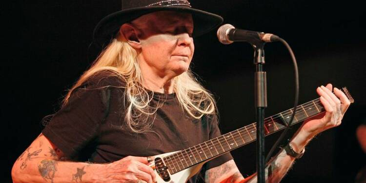 Décès du bluesman texan Johnny Winter
