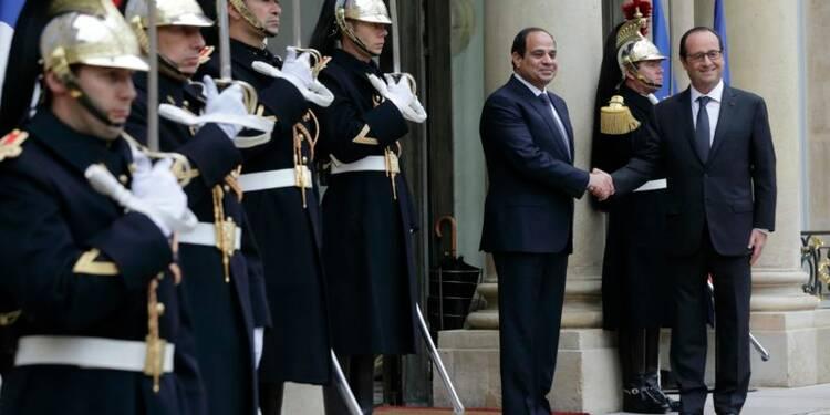 Le président égyptien tente de rassurer les touristes français