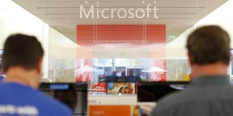 Le bénéfice de Microsoft meilleur que prévu malgré une charge