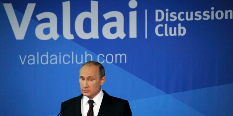 Violente charge de Vladimir Poutine contre les Etats-Unis