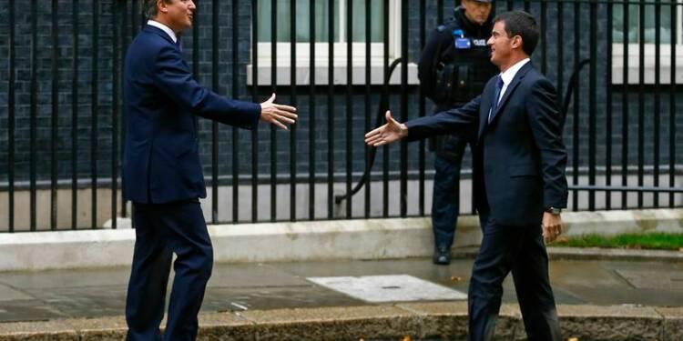 Valls déclare sa flamme pro-entreprise à la City de Londres