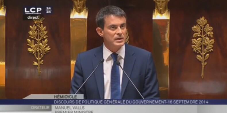 En direct : le discours de politique générale de Manuel Valls