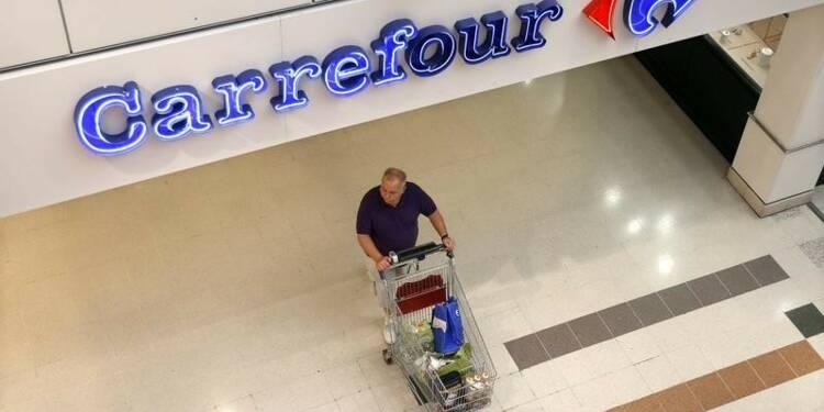 Carrefour ralentit mais résiste en France et au Brésil