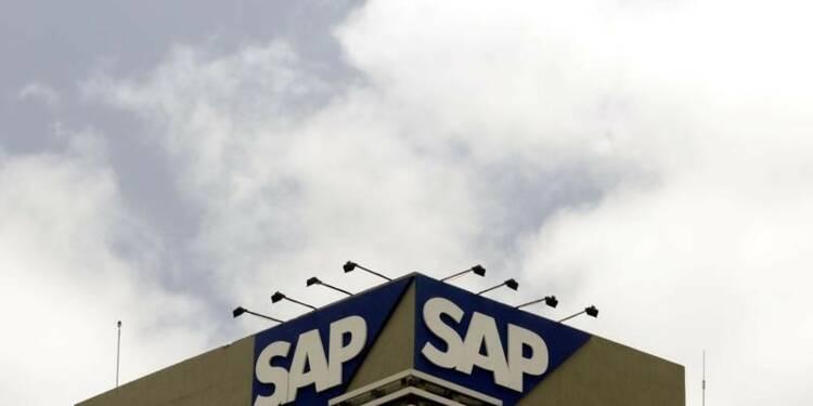 SAP abaisse sa prévision de résultat opérationnel 2014