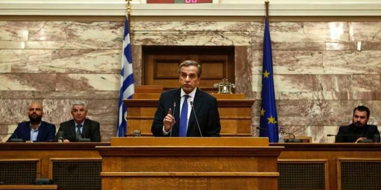Début de la présidentielle en Grèce, Samaras jauge ses appuis