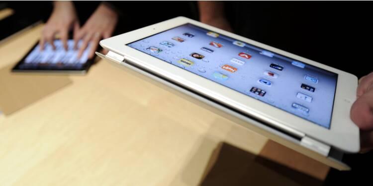 L'iPad assoit sa domination sur le marché des tablettes, le Kindle Fire s'effondre