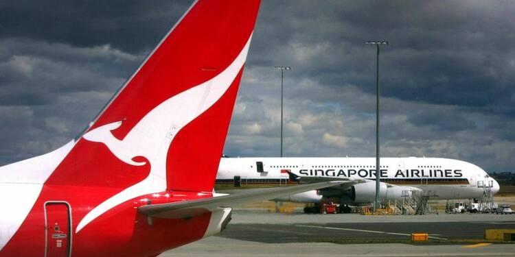 Qantas espère renouer avec les bénéfices après une perte record
