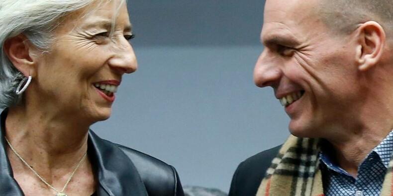 Fin de l'Eurogroupe sur la Grèce, les discussions vont continuer