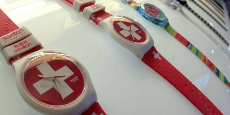 Swatch optimiste en dépit d'un 1er semestre jugé décevant