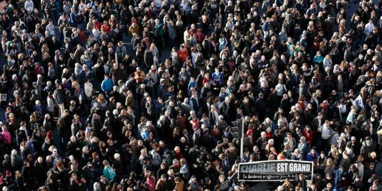 Quelque 700.000 personnes en hommage aux victimes des attentats