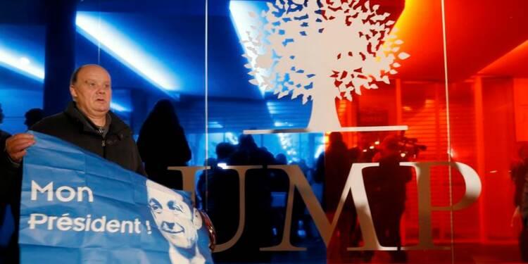 Nicolas Sarkozy élu à la tête de l'UMP, avec 64,5% des voix